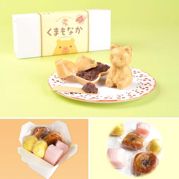 菓子工房 美好屋/「自分で作るクマ最中」と「ミニ和菓子BOX」セット